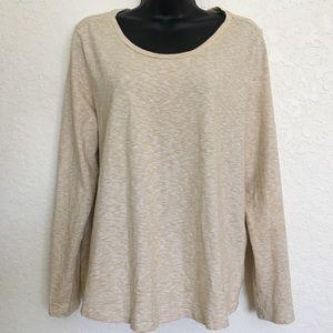 Ann Taylor LOFT long sleeve t-shirt top Size LARGE